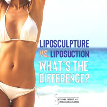 liposuction and liposculpture; What's the difference